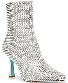 Betsey Johnson Jana Embellished Dress Booties