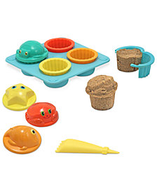 Melissa and Doug Kids Set, Seaside Sidekicks Sand Cupcake Set