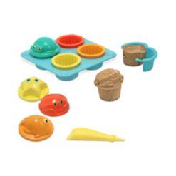 Melissa and Doug Kids Set, Seaside Sidekicks Sand Cupcake Set