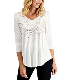 Sequined Top, Created for Macy's