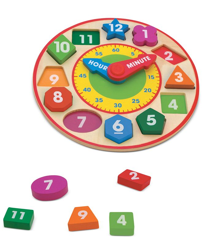 Melissa and Doug Kids Toy, Shape-Sorting Clock & Reviews ...