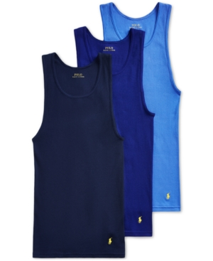 Polo Ralph Lauren Men's 3-Pk. Classic Cotton Tank Tops