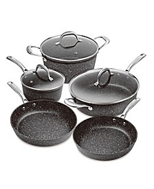 Superior Nonstick Cast Aluminum Induction 8-Pc. Cookware Set