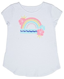 Big Girls Rainbow Sunset Tee
