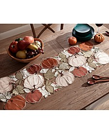 Pumpkin Bunch Cutwork Centerpiece