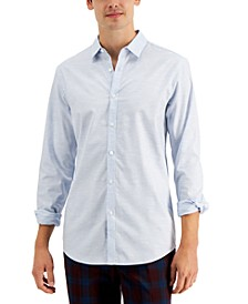 INC Men's Judd Dobby Shirt, Created for Macy's