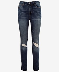 Juniors' Real Curve High-Rise Skinny Jeans