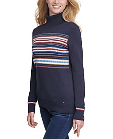Stella Fair Isle Cotton Sweater