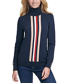 Stella Striped Cotton Sweater