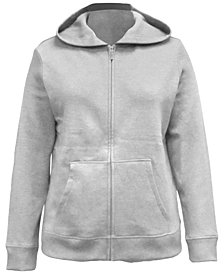 Karen Scott Petite Fleece Zip-Up Hoodie, Created for Macy's