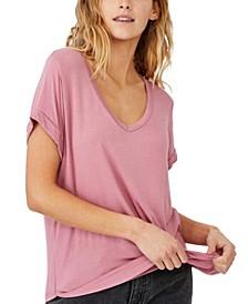 Karly Short Sleeve V-Neck Top