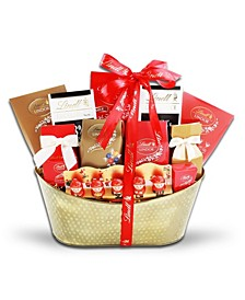 Lindt Chocolate Lovers Holiday Gift Basket