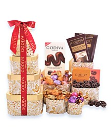 Godiva Holiday Gift Tower