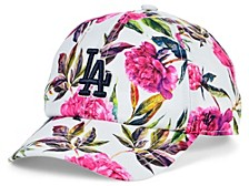 Los Angeles Dodgers Girls Peony Clean Up Cap