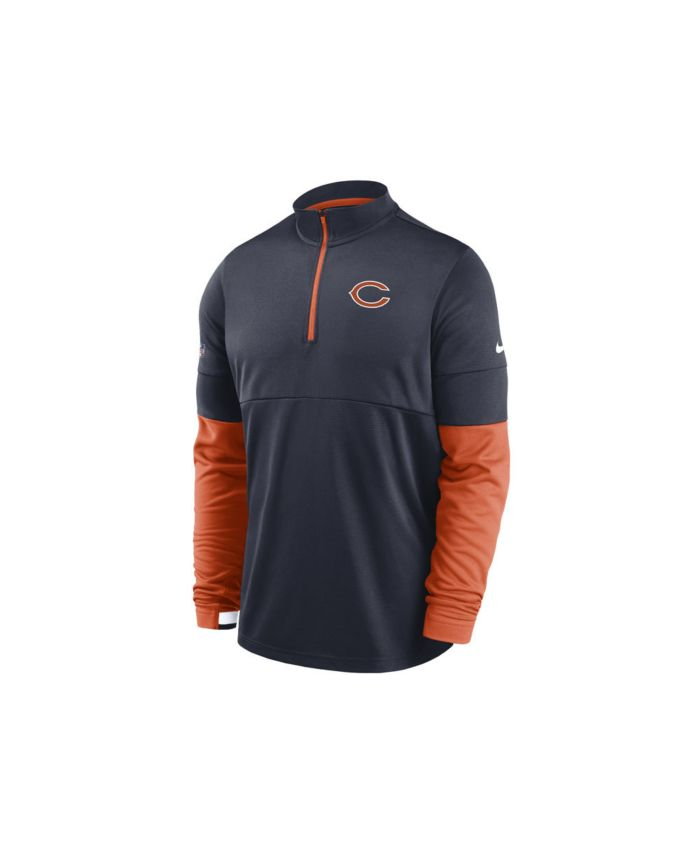 Nike Chicago Bears Men's Sideline Half Zip Therma Top & Reviews - Sports Fan Shop By Lids - Men - Macy's