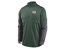 Green Bay Packers Men's Sideline Half Zip Therma Top
