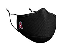 Los Angeles Angels Black Team Face Mask