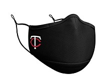 Minnesota Twins Black Team Face Mask