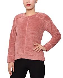 Trendy Plus Size Fuzzy Sweater
