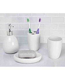 Bath Accessory 4 Piece Set