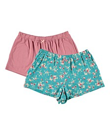 Women's 2 Pack Shorts with Pockets
