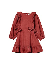 Big Girls Beattie Long Sleeve Dress