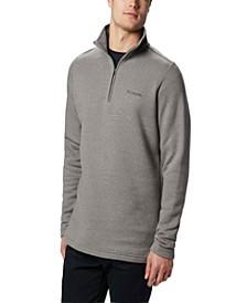 Men's Big and Tall Great Hart Mountain Half-Zip Fleece Sweatshirt
