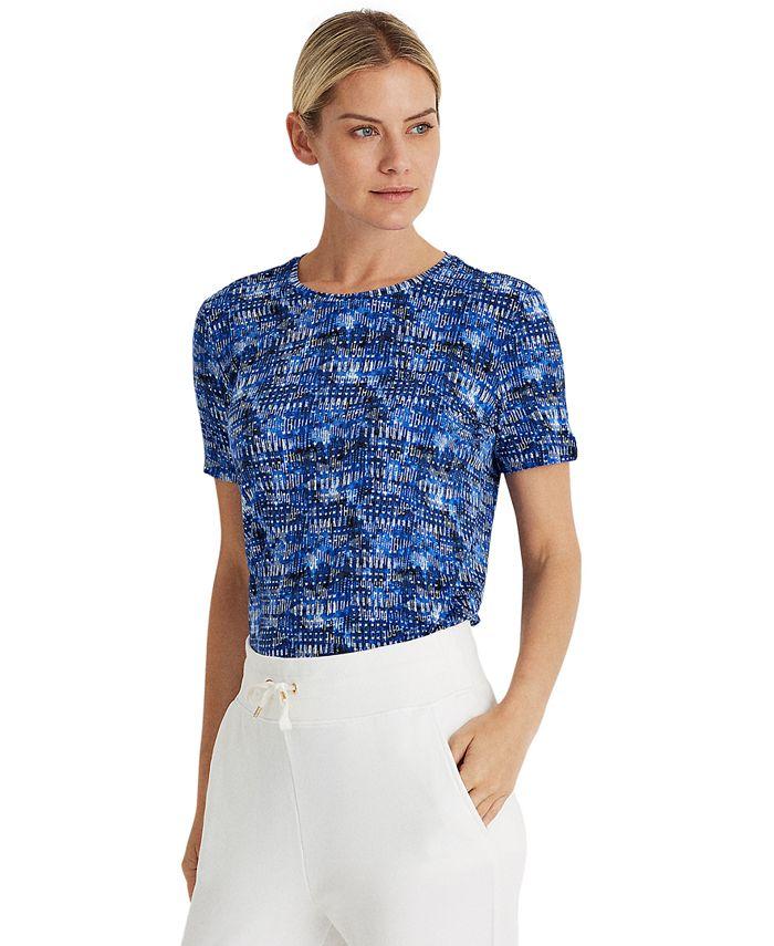 Lauren Ralph Lauren - Print Jersey T-Shirt