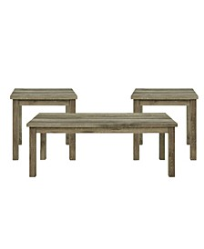 Turner 3 Piece Occasional Table Set