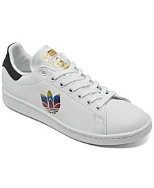 Women's Stan Smith Adicolor 3D Trefoil Pride Casual Sneakers from Finish Line
