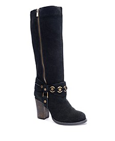 Women's Backstreet Block Heel Boots