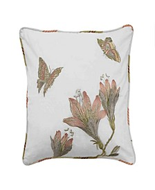 Laurel Woven Embellishment Decorative Pillow