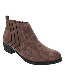 Women's Tessie Cut Out Ankle Booties