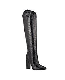 Mileena Over the Knee Western Women's Regular Calf Dress Boots