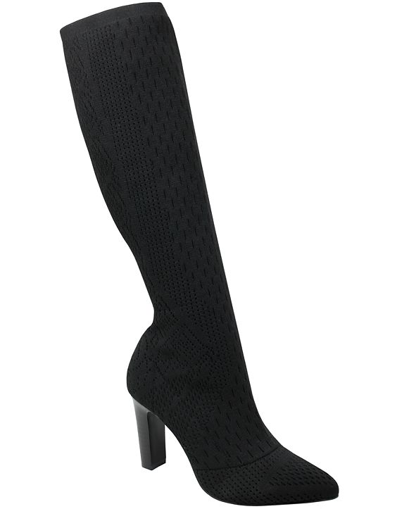 CHARLES by Charles David Women's Dalton Over-the-Knee Stretch Boots