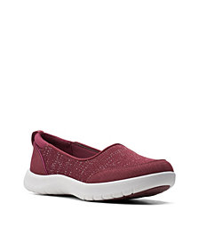 Clarks Women's Cloudsteppers Adella Blush Shoes