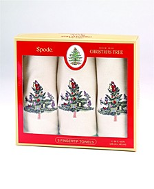 Christmas Trees Fingertip Box, Set Of 3