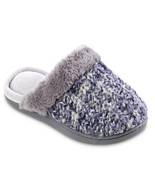Women's Sweater Knit Sheila Clog Slippers