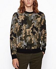 BOSS Men's Krevenant Regular-Fit Sweater