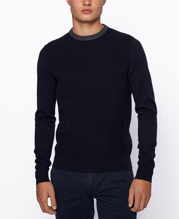 Hugo Boss BOSS Men's Ayakop Regular-Fit Sweater
