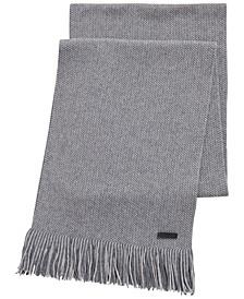 BOSS Men's Medeo Raschel-Knit Scarf