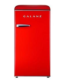 3.3 Cu Ft Retro Refrigerator