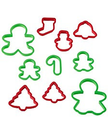 Holiday 10-Pc. Cookie Cutter Set