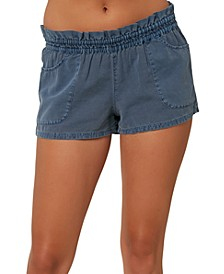 Juniors' Carmen Pull-On Shorts