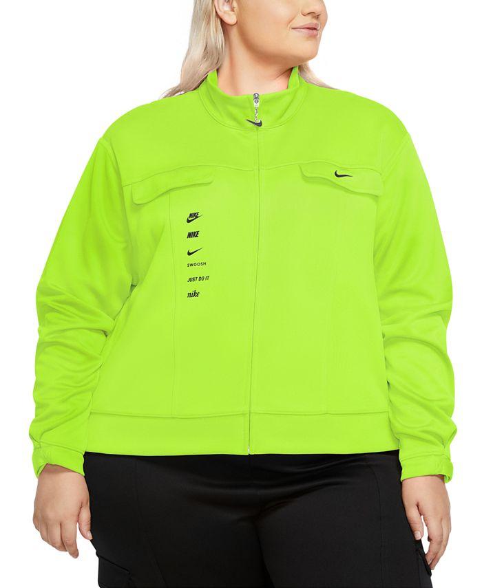 Nike - Plus Size Swoosh Track Jacket