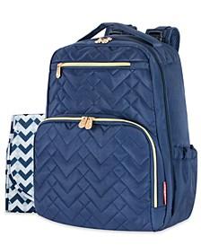 Signature Quilt Diaper Backpack