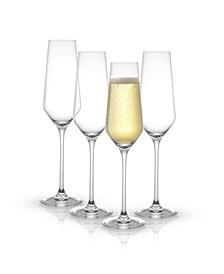 Layla Champagne Glasses, Set of 4