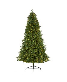 New Hampshire Fir Artificial Christmas Tree with 450 Clear LED Lights
