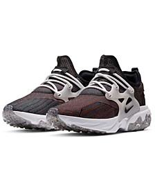 Men's React Presto FlyKnit Running Sneakers from Finish Line