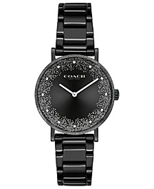 Women's Perry Black-Tone Bracelet Watch 28mm